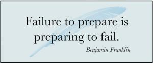Prepare for Success!